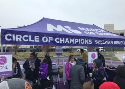 Circle of Champions Tent | 2018 Worcester March for Babies
